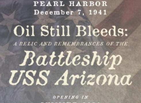 Oil Still Bleeds Exhibit at Fort Miles