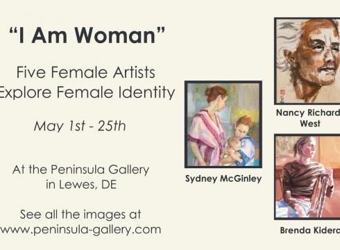 I Am Woman Art Exhibition